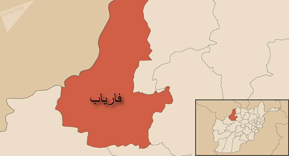 سفر مقام های ارشد امنیتی افغانستان و ناتو به ولایت فاریاب
