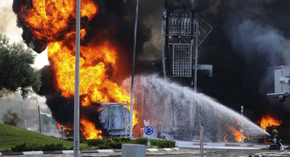 حمله حماس به بزرگترین بندر اسرائیل + ویدئو