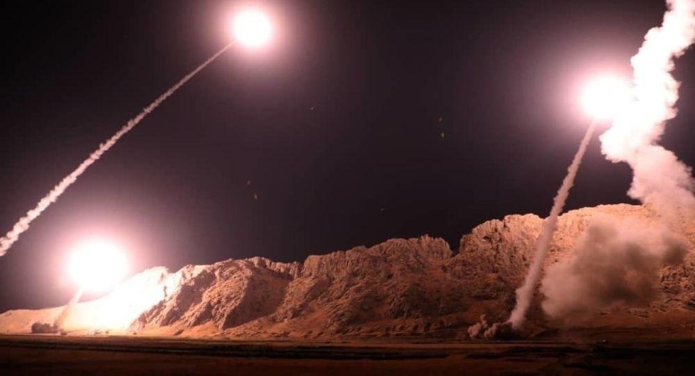 حملات راکتی تروریستان در سوریه