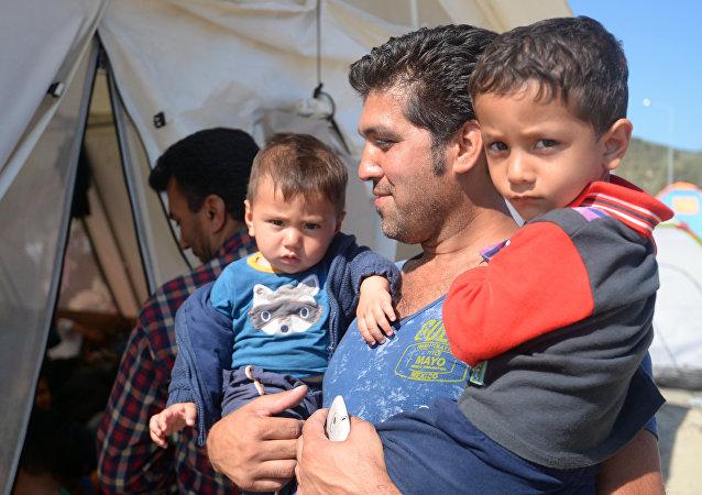 گشایش نخستین کمپ مهاجرین ساخته شده توسط متخصصان روسی در سوریه