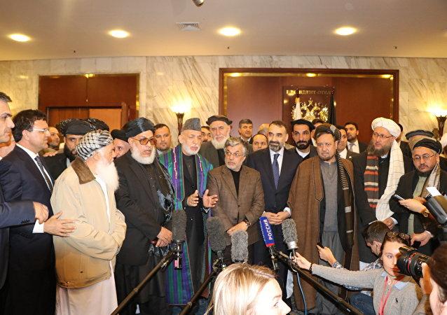 نشست بینالافغانی در مسکو با حضور سیاسیون افغان و نمایندگان طالبان