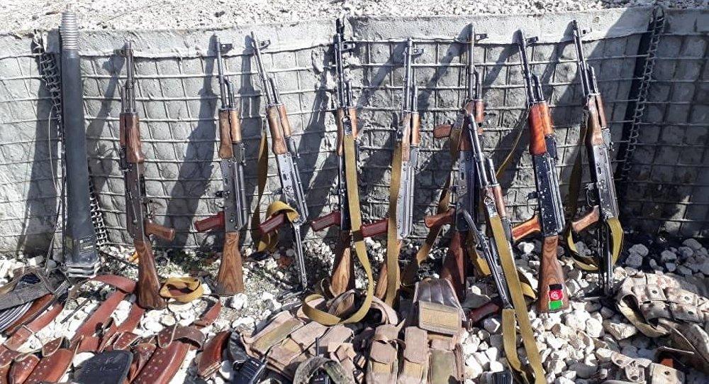 جنگ افزارهای امریکایی در افغانستان به فروش میرسند