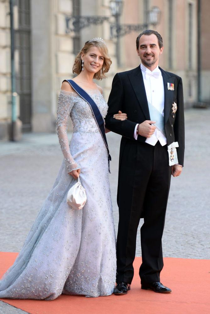 نیکولای، شاهزاده یونان با همسرش تاتیانا