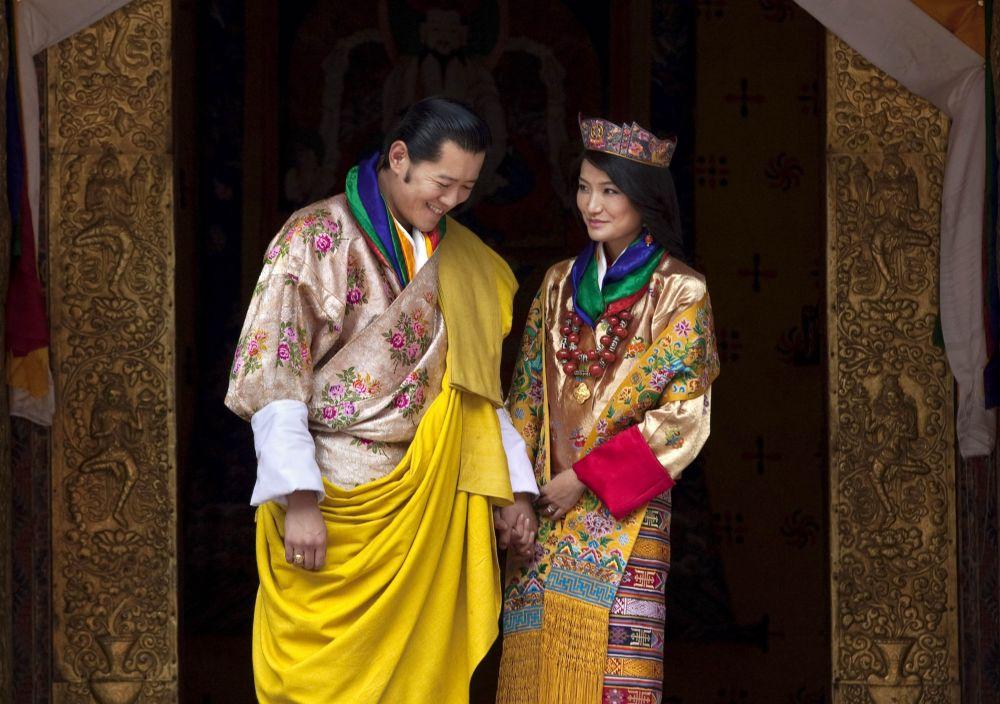 جیگمی خسار نامگیال وانگچوک، پادشاه بوتان