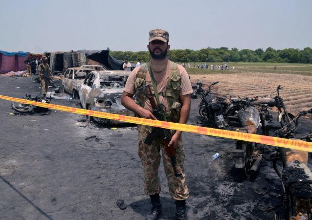 انفجار در ایالت بلوچستان پاکستان