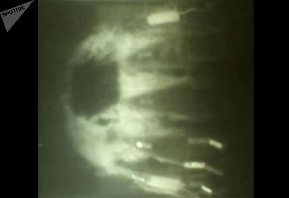 آزمایش تحت البحری مجهز با سیستم راکتی «پوزئیدون»