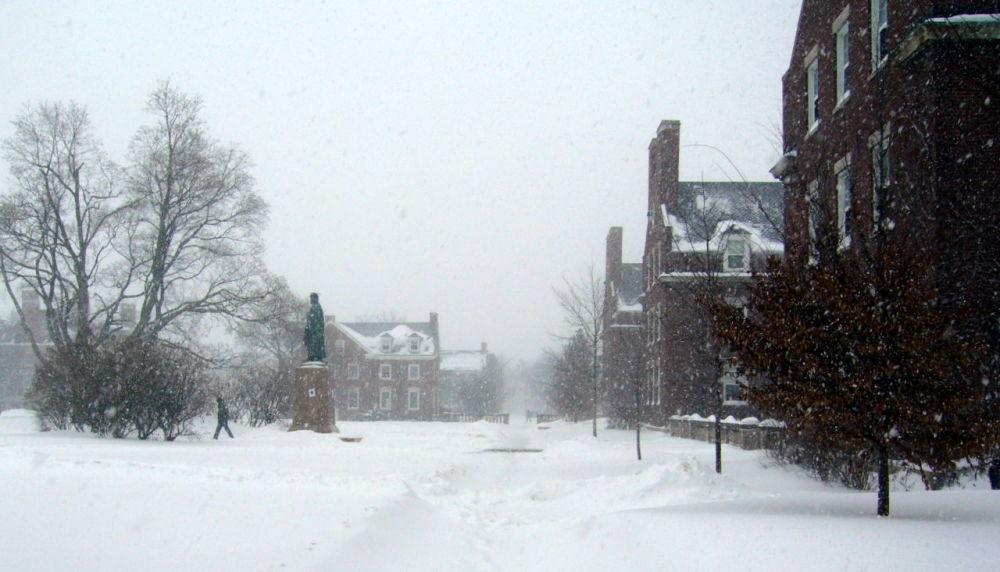 زمستان در شهر راچستر، نیویورک