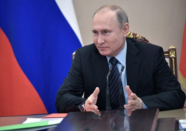 از ولادیمیر پوتین رئیس جمهور روسیه