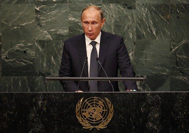 سخنرانی رئیس جمهور روسیه در سازمان ملل