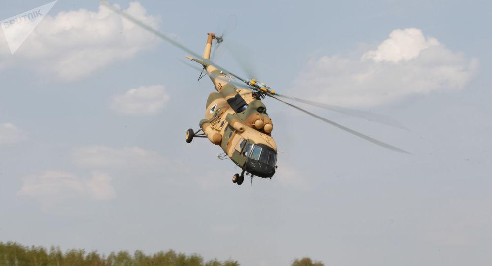 هلیکوپتر می-8 روسیه سقوط کرد + ویدیو