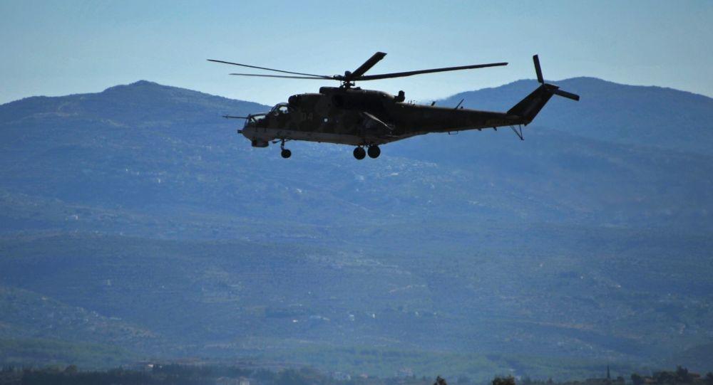 سقوط هلیکوپتر وزارت دفاع روسیه در ارمنستان