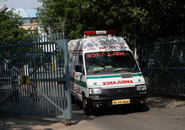 فرو ریختن سقف  کوره سوزاندن جنازه در هند 18 تن را به کام مرگ فرستاد