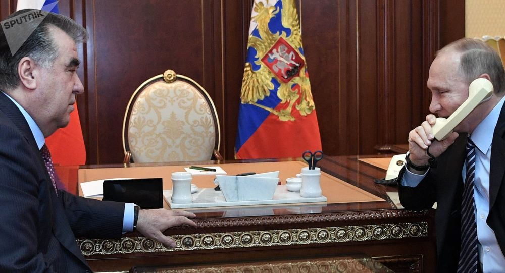 پوتین و امامعلی رحمان چالشهای امنیتی از جانب افغانستان را به بحث گرفتند
