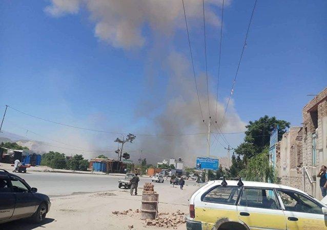 براثر انفجار بالون گاز در ننگرهار 2 تن زخمی شدند