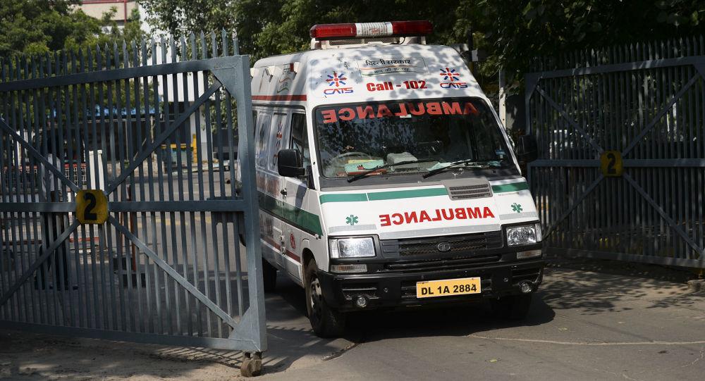 ریزش ساختمان در هند جان 11 نفر را گرفت