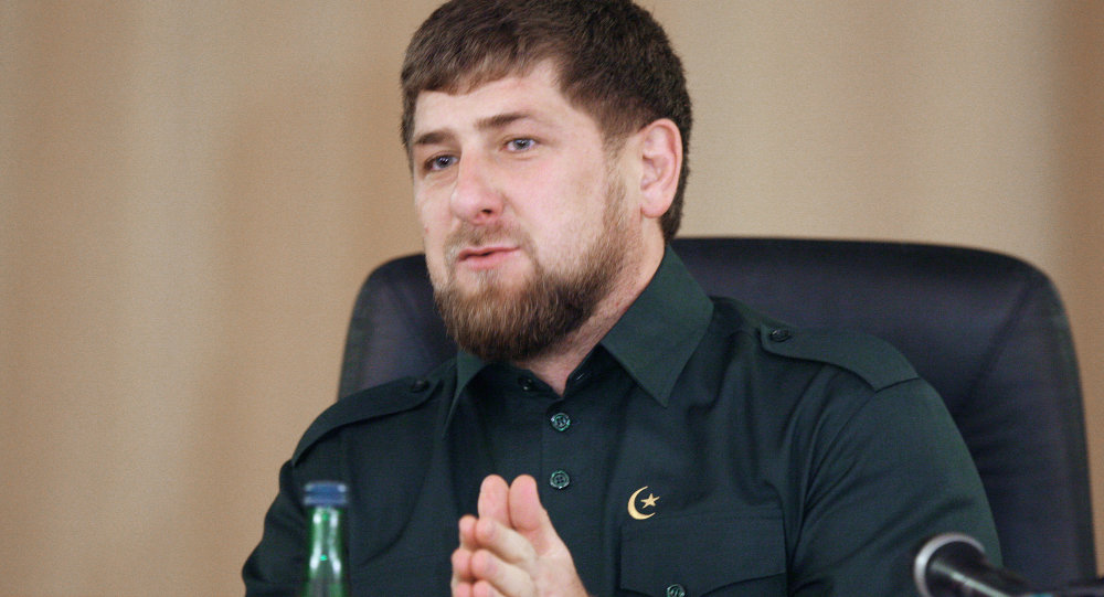 رمضان قادروف رهبر جمهوری چیچنیا