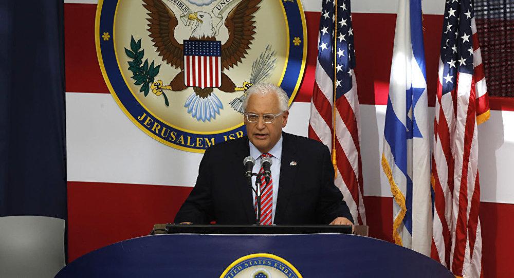 هشدار سفیر امریکا به نتانیاهو درمورد معامله قرن