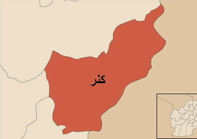 صدای انفجار در در شهر اسعدآباد مرکز کنر شنیده شد