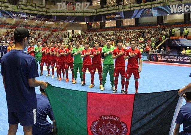 مسابقه تیم های فوتسال افغانستان و جاپان در ایران