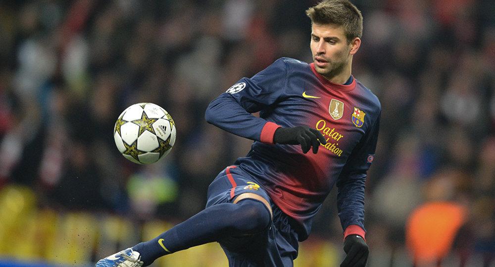 جرارد پیکه مدافع بارسلونا