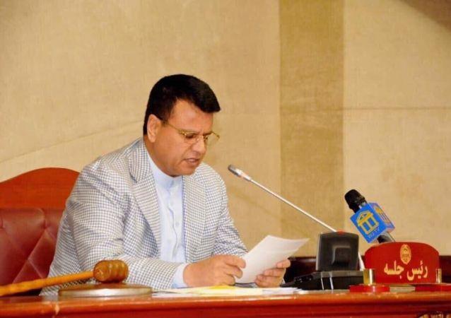 میر رحمان رحیمی، رئيس مجلس نمایندگان افغانستان