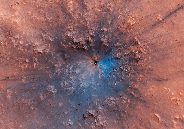 کشف یک سوراخ عجیب در مریخ توسط دانشمندان ناسا