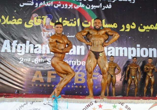 مسابقات پرورش اندام و آقای عضلات افغانستان