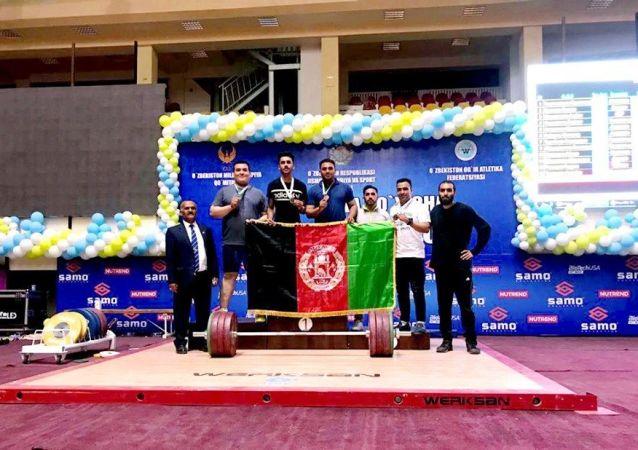 تیم ملی وزنه برداری افغانستان