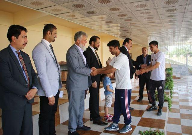 تیم ملی مشت زنی افغانستان