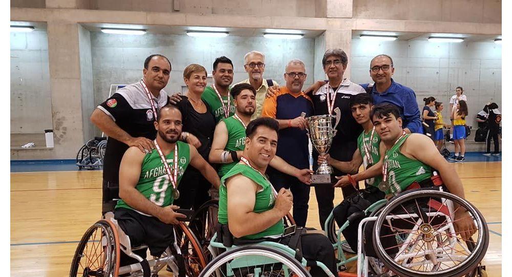 بسکتبال با ویلچر افغانستان