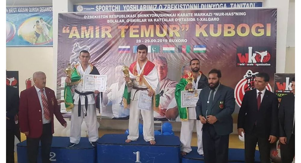 تیم شین کیو گوشین کاراته افغانستان