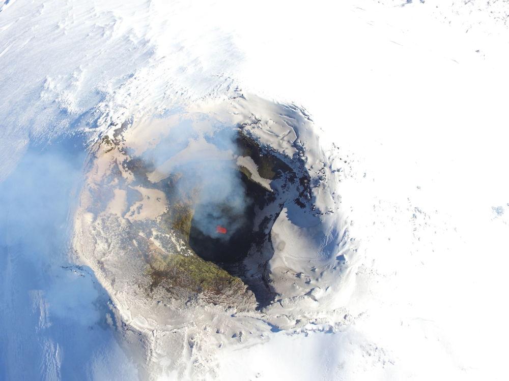 دهانه آتشفشان «ویلاریکا» - چیلی