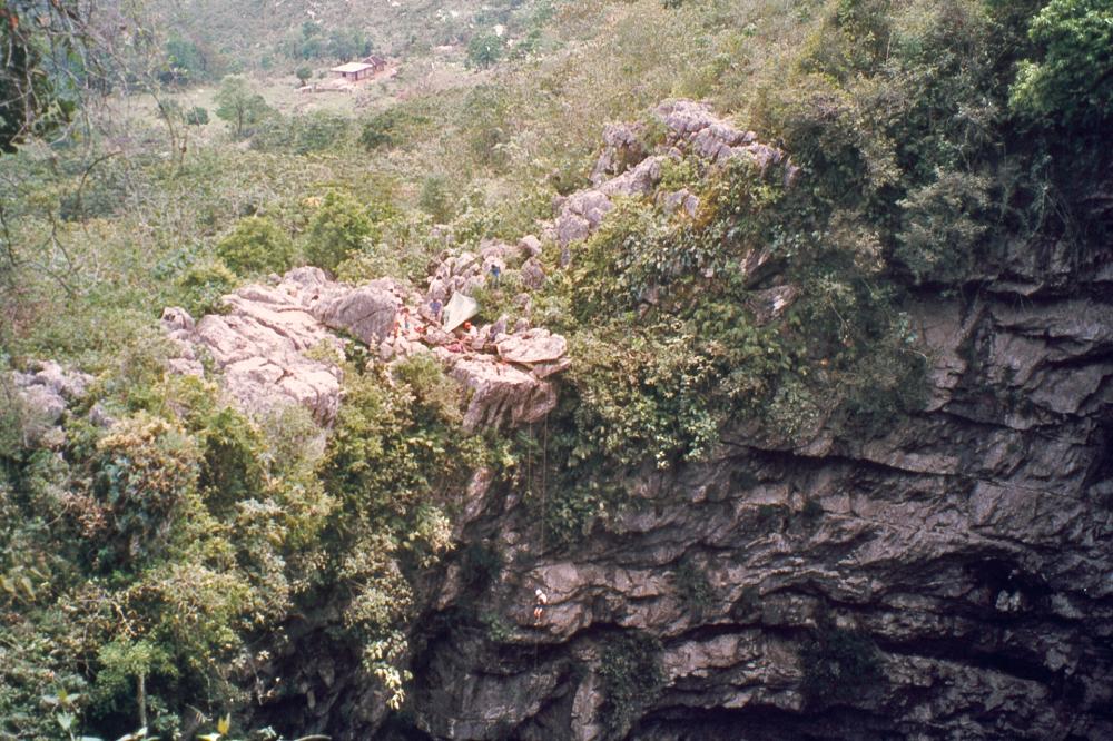 غار پرستوها - مکسیکو