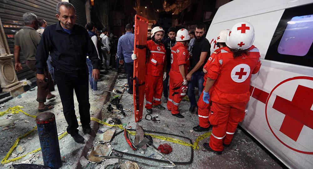 انفجار یک تانکر تیل در لبناندست کم 20 کشته برجای گذاشت