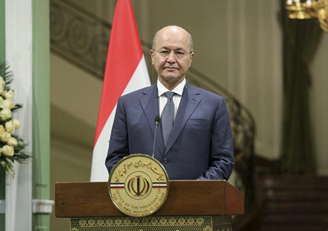 محکوم کردن حملات هوایی امریکا توسط ریاست جمهوری عراق