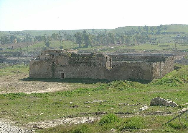 Saint Elijah's Monastery, Mosul, Iraq - the oldest Christian monastery in Iraq.