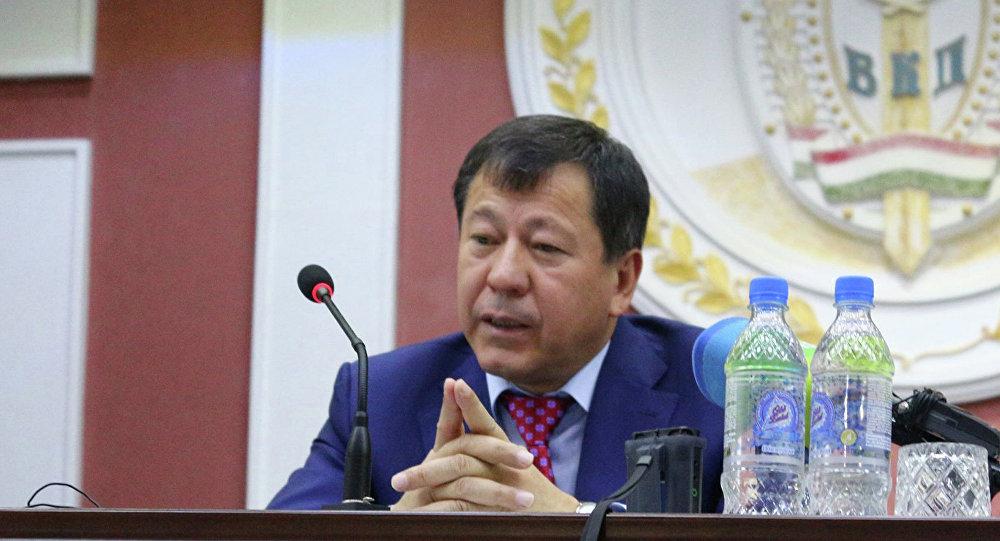رمضان رحیم زاده وزیر داخله تاجکستان