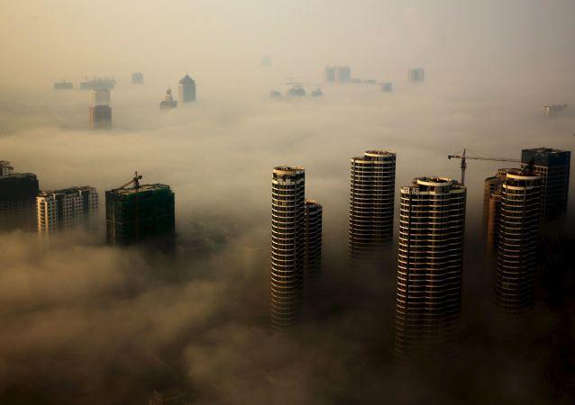فروریختن هوتل در جنوب شرق چین