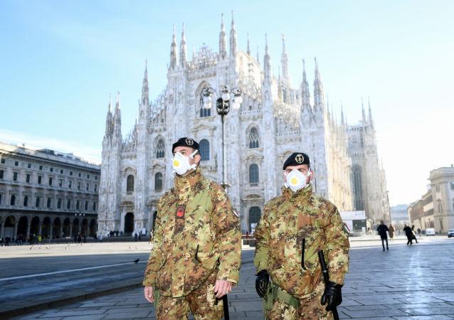 ایتالیا بزرگترین کانون گسترش کرونا در اروپا
