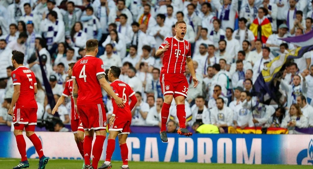 Real Madrid - Bayern Münich - Joshua Kimmich