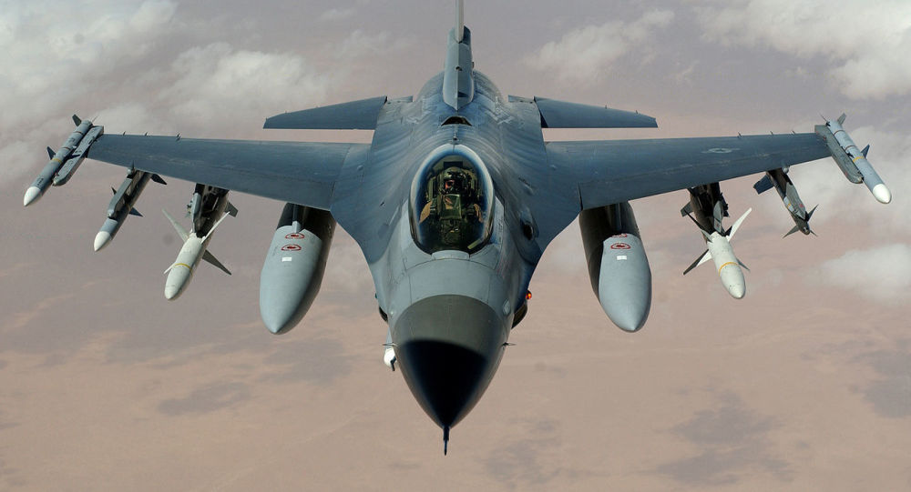 حمله هوایی ارتش امریکا به داعش در افغانستان