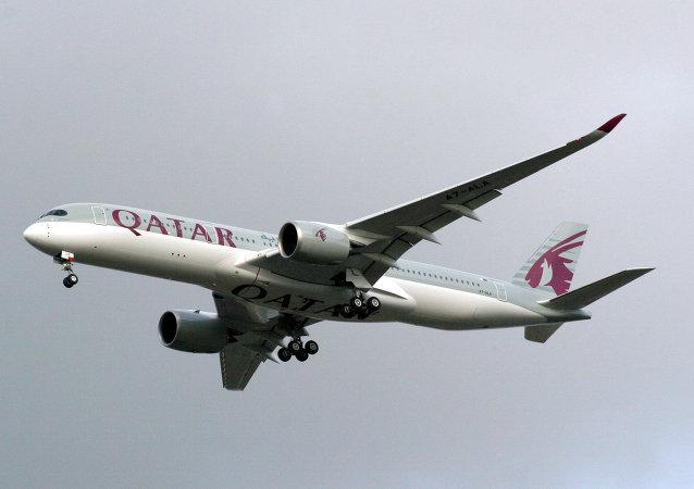 یک هواپیما قطری امروز با 170 سرنشین از کابل پرواز کرد