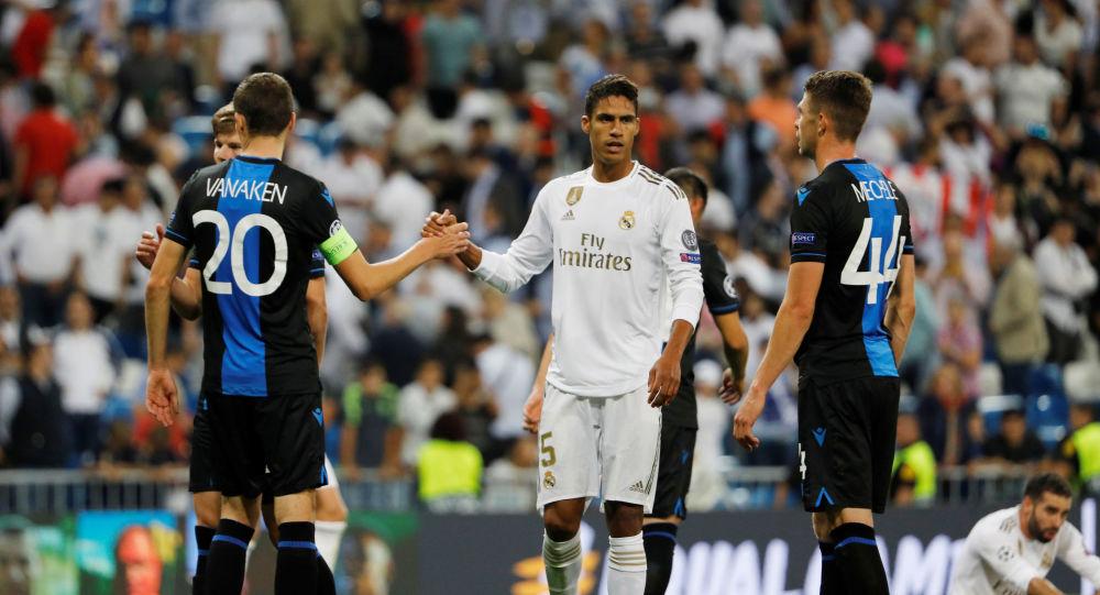 A Grubu'nda Real Madrid, 2-0 geriye düştüğü maçta Club Brugge ile 2-2 berabere kaldı.
