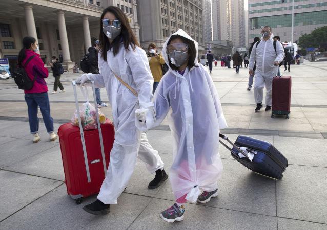 لغو صد ها پرواز در فرودگاه های چین به دلیل انتشار کرونا