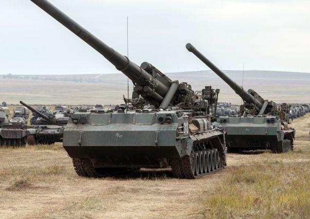 توپ های هسته ای شوروی در افریقا مشاهده شد