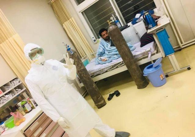 سازمان صحت جهان 500 دستگاه آکسیجن را به افغانستان کمک کرد