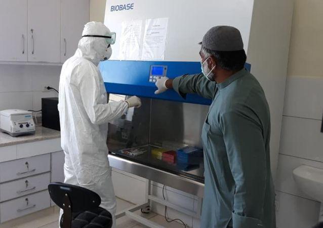 لابراتوار تشخیص کرونا ویروس در پکتیا