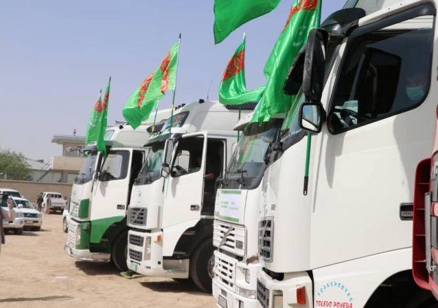 بیدار: کمکهای ترکمنستان ترکمنستان پس از یک هفته توقف از سوی طالبان، فاسده شده است