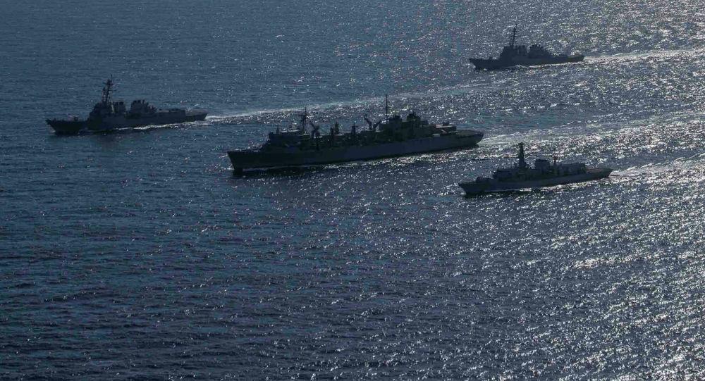 موقعیت کشتی های جنگی امریکا در دریای سیاه افشا شد