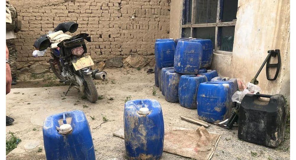 کشف یک ذخیرهگاه مواد انفجاری در کابل